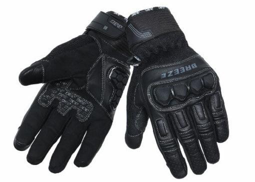 BBG Breeze Black Riding Gloves