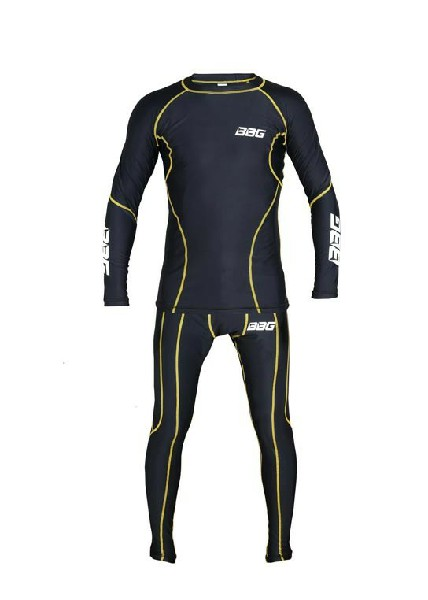 BBG Inner Race Suit Black