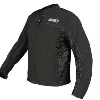 BBG Metro Black Riding Jacket 1