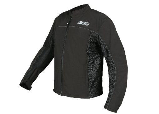 BBG Metro Black Riding Jacket 1
