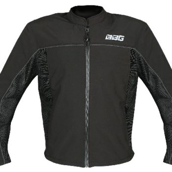 BBG Metro Black Riding Jacket