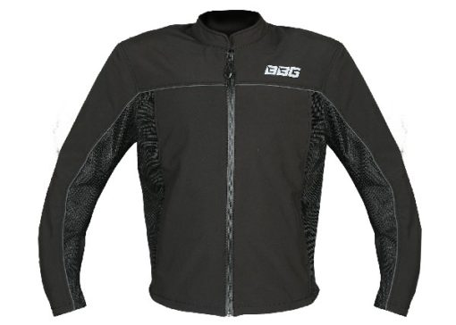 BBG Metro Black Riding Jacket