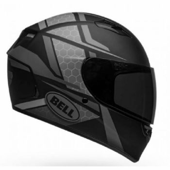 Bell Qualifier Flare Gloss Black Grey Full Face Helmet