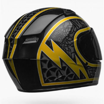 Bell Qualifier Scorch Gloss Black Gold Full Face Helmet 2