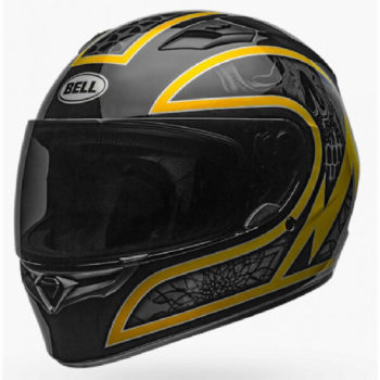 Bell Qualifier Scorch Gloss Black Gold Full Face Helmet
