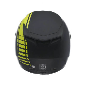 Bell RS 1 Liner Hi Viz Matt Black Fluorescent Yellow Full Face Helmet 1