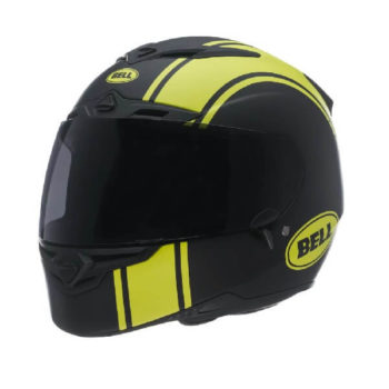 Bell RS 1 Liner Hi Viz Matt Black Fluorescent Yellow Full Face Helmet