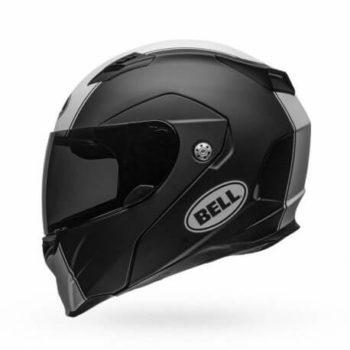Bell Revolver Evo Matt Black White Modular Helmet 1
