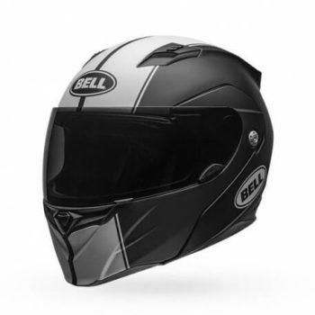 Bell Revolver Evo Matt Black White Modular Helmet