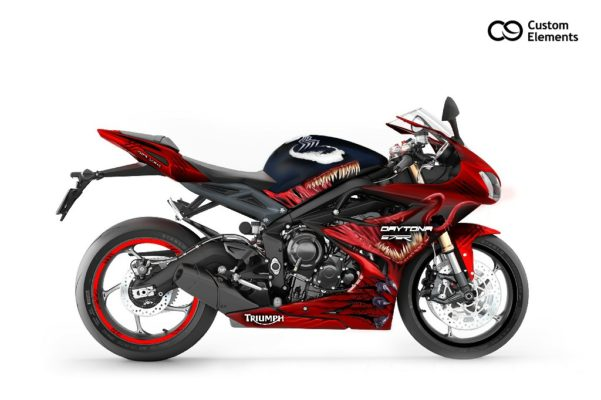Daytona Venom Custom Bike Design 2
