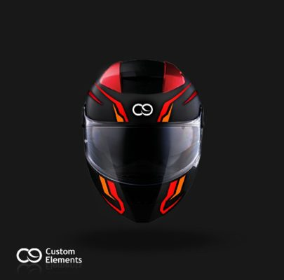 Deepak Shark Dkar Custom Helmet Design 4