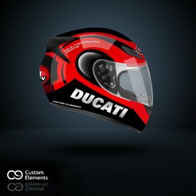 Ducati Multistrada Helmet Design 3