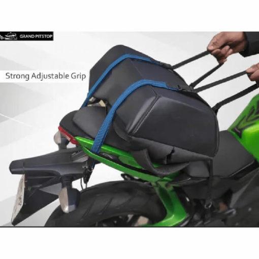 Grand Pitstop Motorbike Luggage Bungee Strap Set of 2