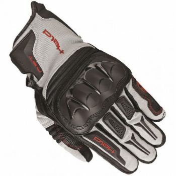 Held Sambia Black Grey Red Riding Gloves