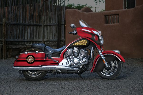Indian Chieftan Custom Design