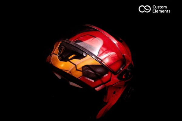 Iron Man Custom Helmet Design 1