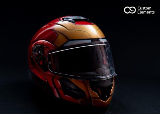 Iron Man Custom Helmet Design 2