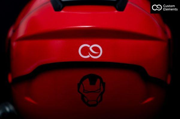 Iron Man Custom Helmet Design 3