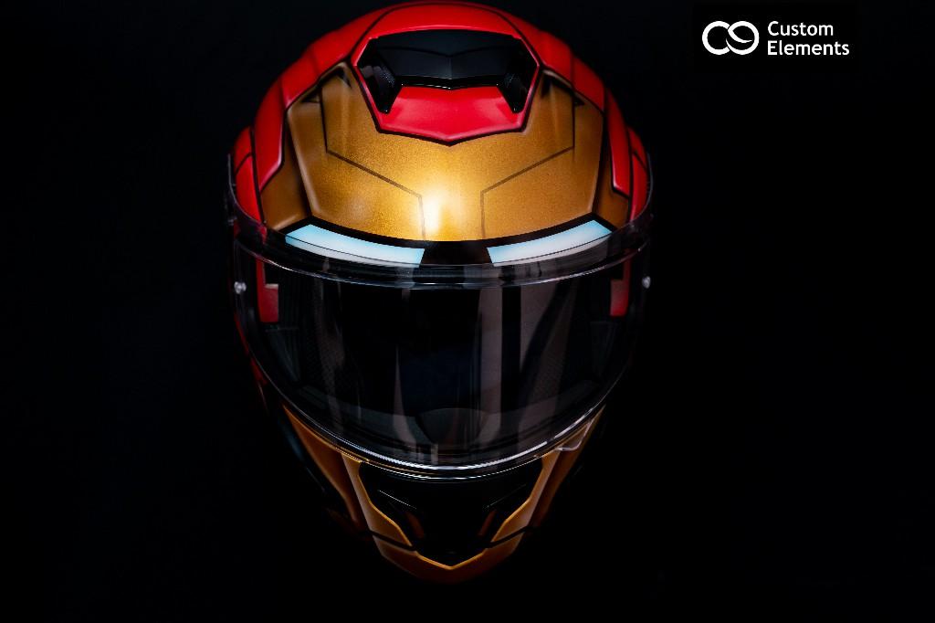 Iron Man Custom Helmet Design 6