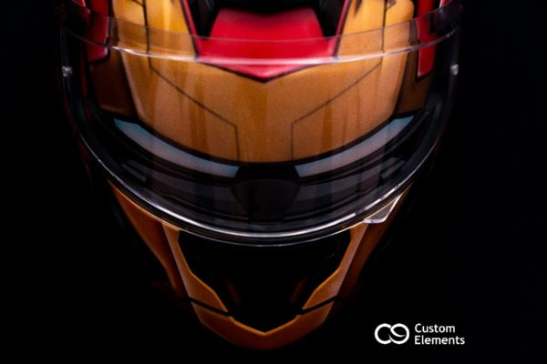 Iron Man Custom Helmet Design 9