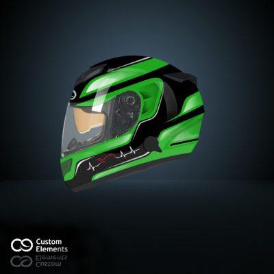 Kawasaki Ninja Helmet Design
