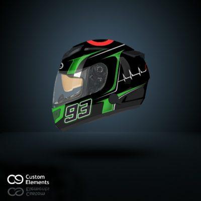 Kawasaki Ninja ZX10R Helmet 1