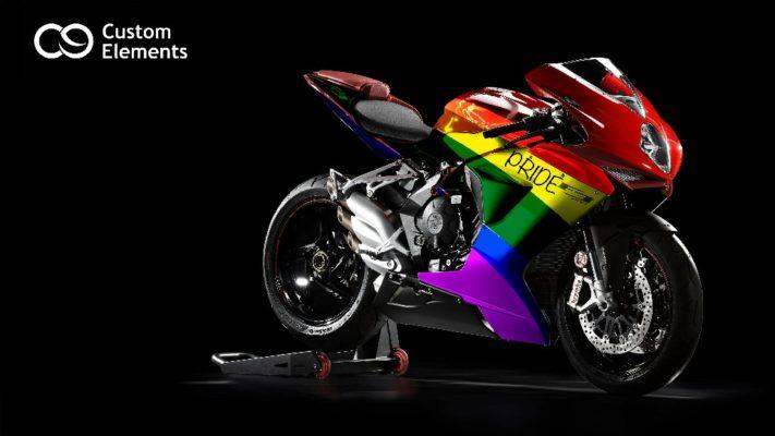 LGBT High Custom Desingned MV Agusta