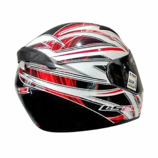 LS 2 FF352 Blast Full Face GLoss Black White Red Helmet 3