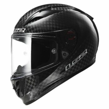 LS2 FF323 Arrow C Solid Full Face Gloss Black Helmet