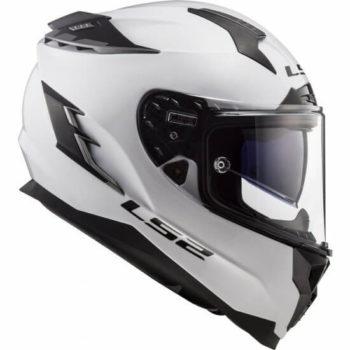 LS2 FF352 Solid Gloss White Full Face Helmet 1