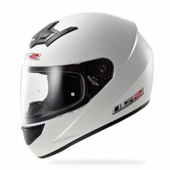 LS2 FF352 Solid Gloss White Full Face Helmet