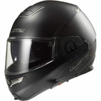 LS2 FF393 Convet Matt Black Flipup Helmet 1