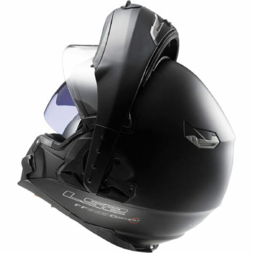 LS2 FF393 Convet Matt Black Flipup Helmet 2