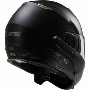 LS2 FF393 Convet Matt Black Flipup Helmet 3