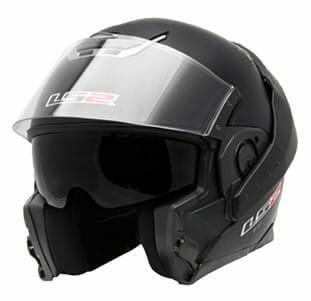 LS2 FF393 Convet Matt Black Flipup Helmet