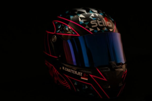 Nayan Chatterjee Racing Custom Helmet 2