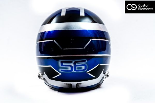Nikanth Custom Painted Racing Helmet 5