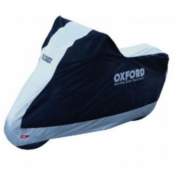 Oxford Aquatex Black Blue Bike Cover