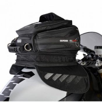 Oxford M15R Magnetic Black Tank Bag