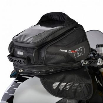 Oxford M30R Magnetic Black Tank Bag