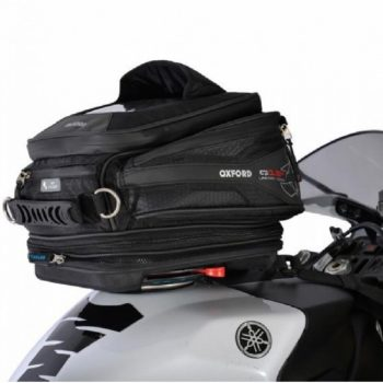 Oxford Q15R Quick Release Black Tank Bag