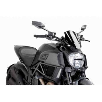 PUIG Ducati Diavel Windscreen 14 15 Sport Screen