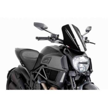 PUIG Ducati Diavel Windscreen 14 16 Sport Screen