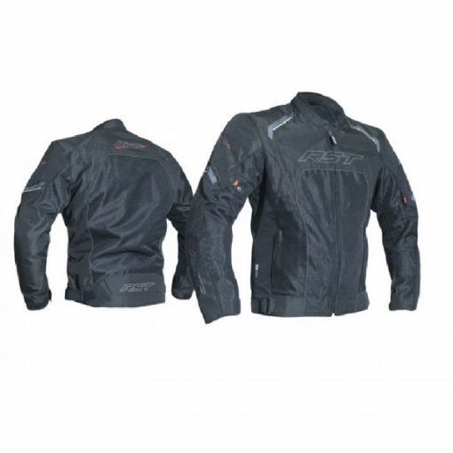 RST T123 Mesh Vented Black Riding Jacket 1