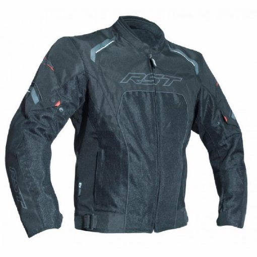 RST T123 Mesh Vented Black Riding Jacket