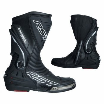 RST Tractech Evo III Sport CE Black White Riding Boots