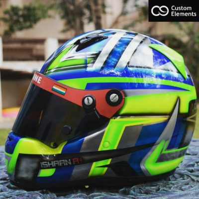 Racing helmet Custom Design