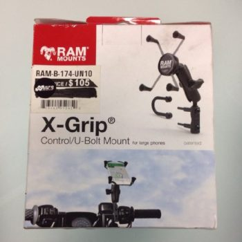 Ram Rail U Bolt Universal X Grip Mount