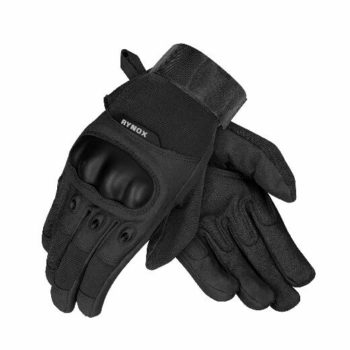 Rynox Recon Black Riding Gloves