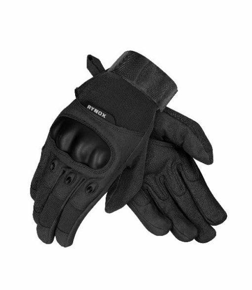 Rynox Recon Black Riding Gloves
